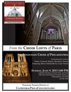 Choir Lofts of Paris